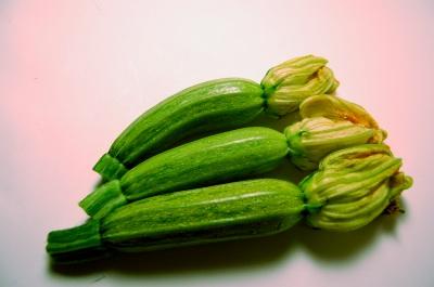 Zucchine nostrale con fiori2